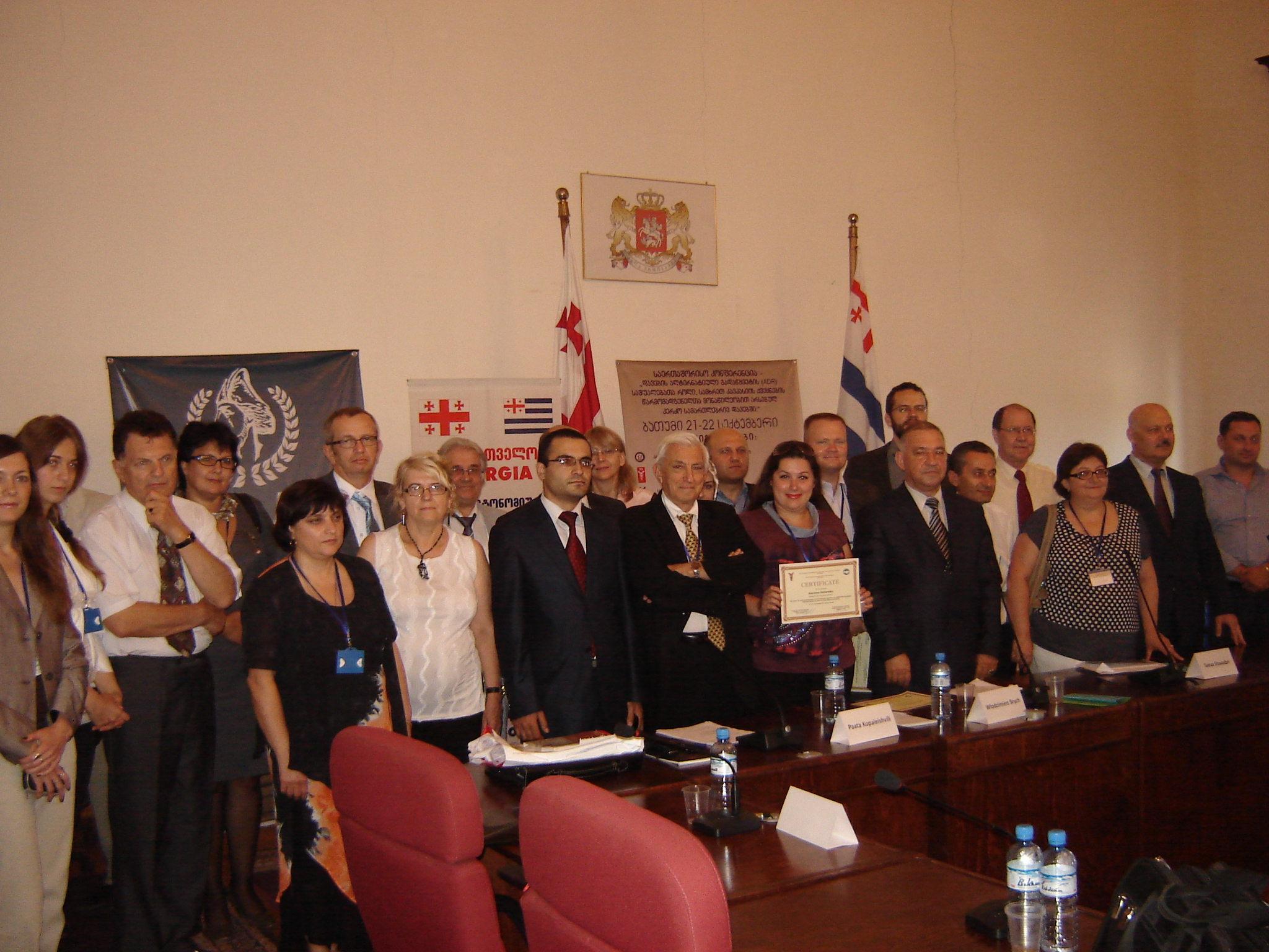 Conference on Arbitration in South Caucasus Held in Georgia