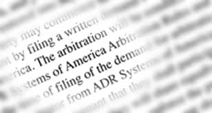 Invalidating the arbitration clause