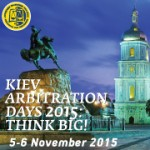 Kiev Arbitration Days 2015 to Take Place in November
