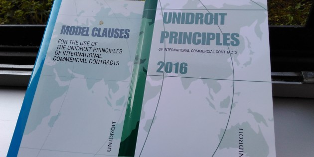 Application of the UNIDROIT Principles in the Practice of Russian State Courts