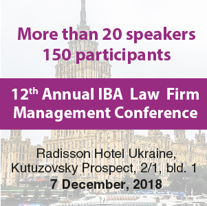 XII Annual IBA Law Firm Management Conference