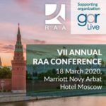 VII Annual RAA Conference will be held in Moscow on March 18 during Moscow Law Week