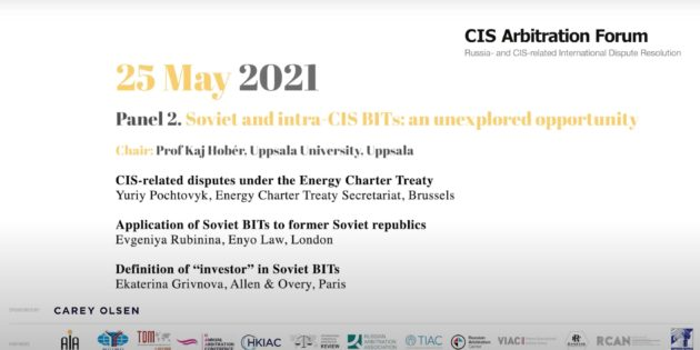 Soviet and intra-CIS BITs: an unexplored opportunity